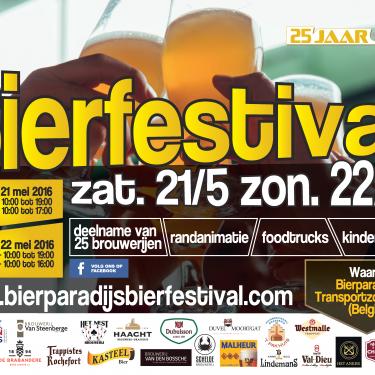 25 jaar Bierparadijs – Bierfestival