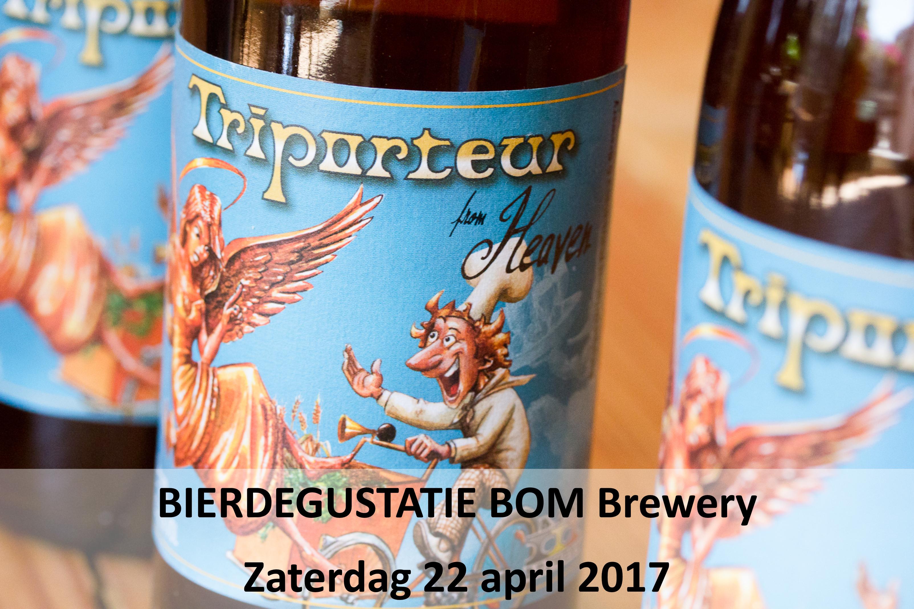 Degustatie BOM Brewery Bierparadijs