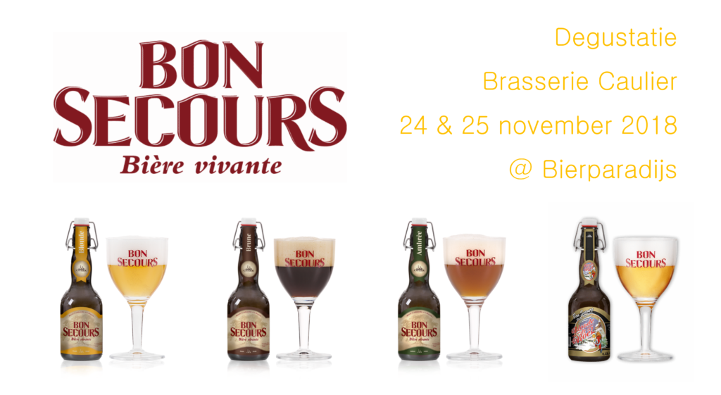 Degustatie Bon Secours - Bierparadijs