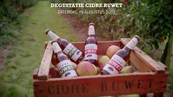Degustatie Cidre Ruwet Bierparadijs