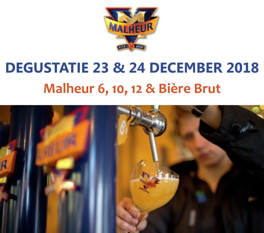 Degustatie Malheur - Bierparadijs