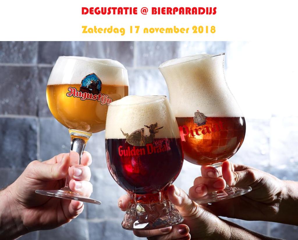 Degustatie Van Steenberge - Bierparadijs