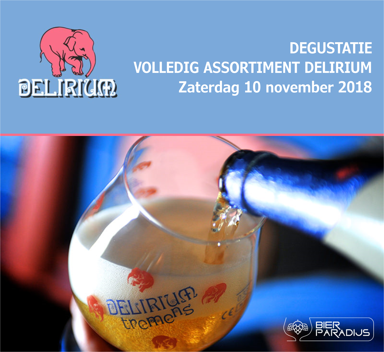Delirium Degustatie - Bierparadijs