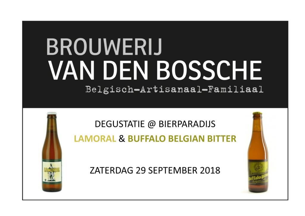 LAMORAL & BUFFALO BELGIAN BITTER - Bierparadijs