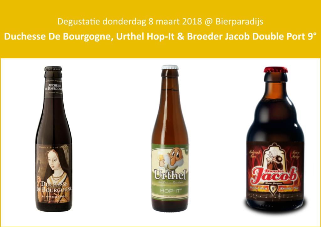 Bierparadijs Duchesse De Bourgogne, Urthel Hop-It & Broeder Jacob