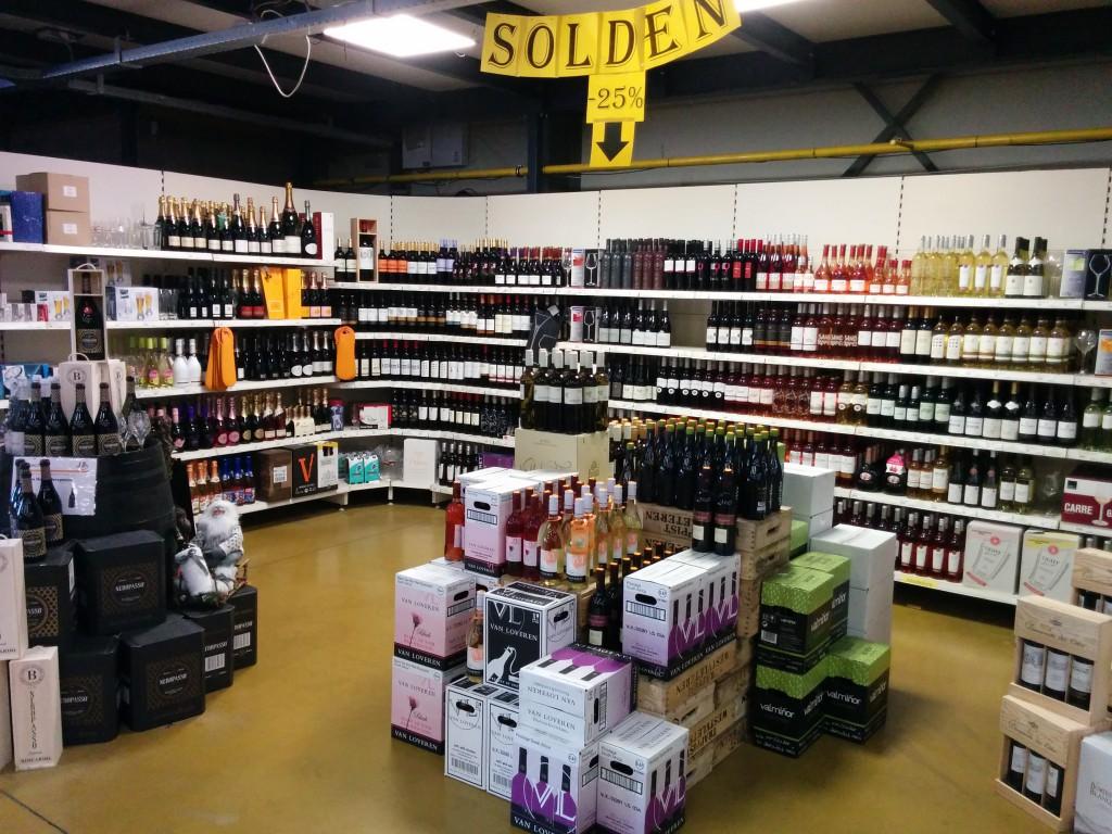 Solden wijn - Bierparadijs