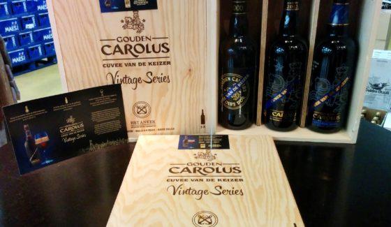 UITVERKOCHT! Gouden Carolus Cuvée Van De Keizer Vintage Series Tasting Set
