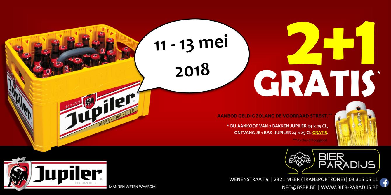 Parking Sales Jupiler 2 + 1 - Bierparadijs