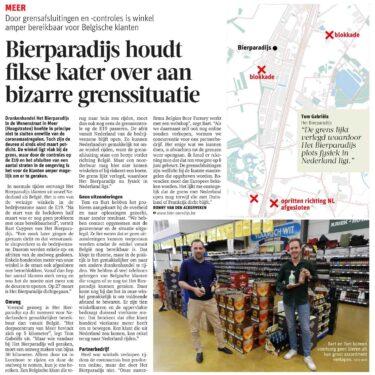 Bierparadijs in de krant